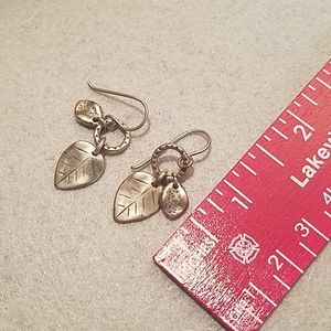Silpada Jewelry - Silpada Fallen Leaves Dangle Earrings W1773